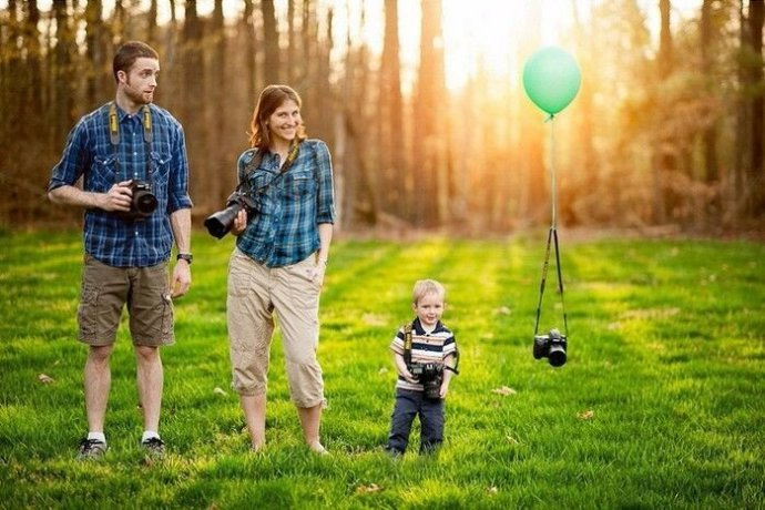 Идеи для креативных семейных портретов