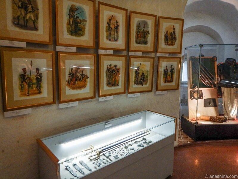 Экспозиция музея, Громовая башня, Смоленск