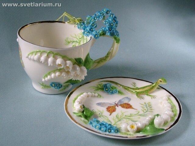 Светлана Орешкина и её изумительный фарфор