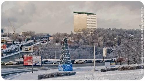 Прекрасная зимняя погода, мой любимый двор и Олимпийская деревня
