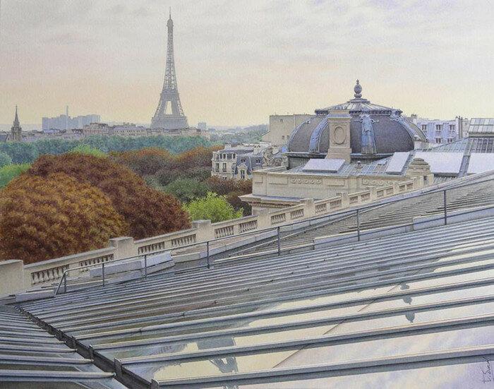 Вид с крыши Гран Палас. Автор: Thierry Duval.
