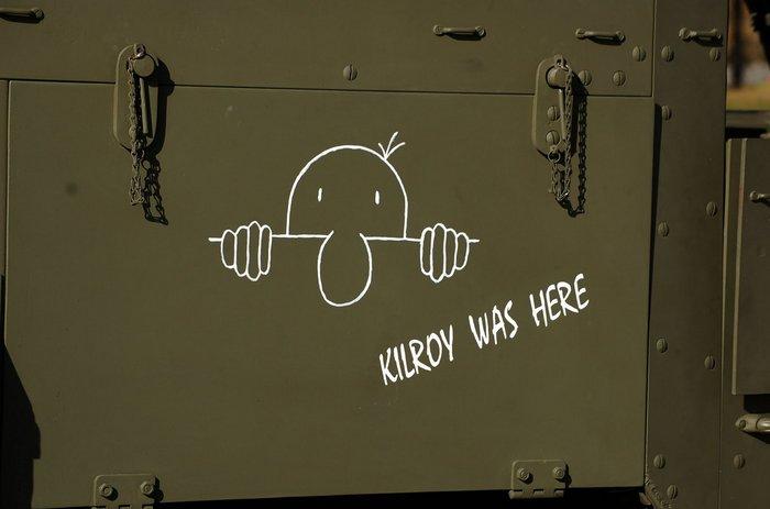 """""""Kilroy was here"""" - о том, кто побывал """"здесь"""" раньше нас"""