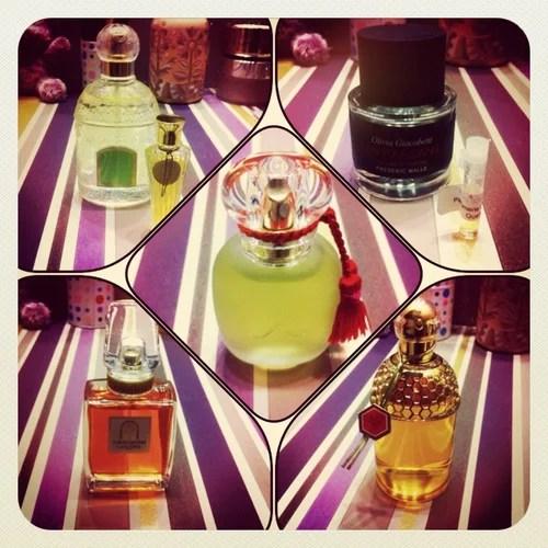 rose d'amour les parfums de rosine, winter delice guerlain, chant d'aromes guerlain