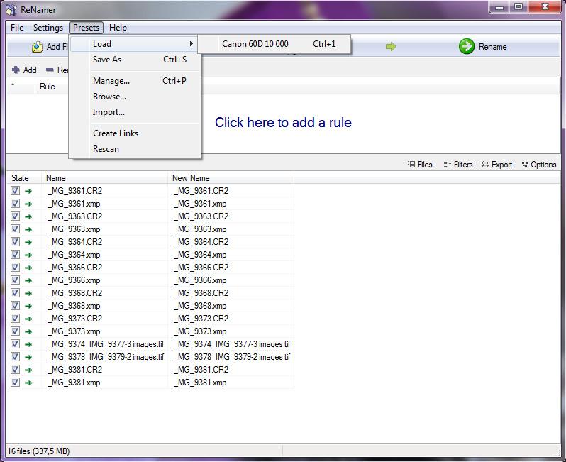 Лёгкий, мощный и гибкий в использовании ReNamer Must-Have Freeware !!!