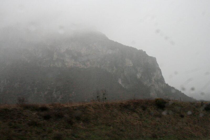 Скала в предгорьях Пиренеев