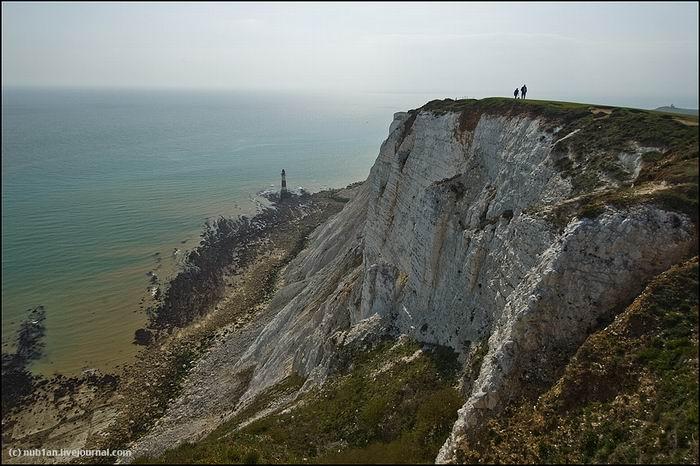 Меловые скалы Beachy Head. Великобритания. Восточный Суссекс. Истборн.