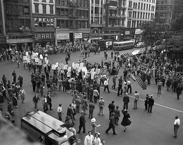 Нью Йорк много лет назад. Фотографии