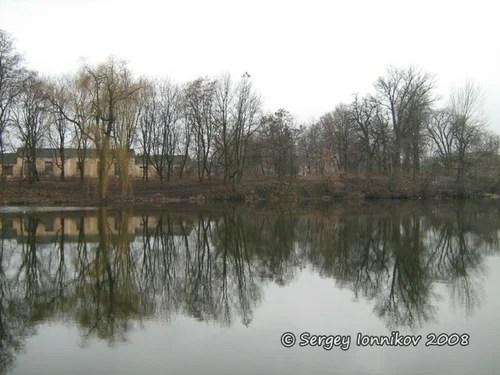 Андрушівка садиба маєток Терещенко весна березень 2008