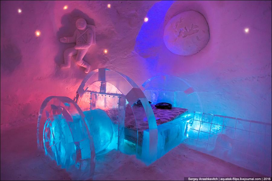 Snow Village en Laponia / hotel de hielo en Laponia