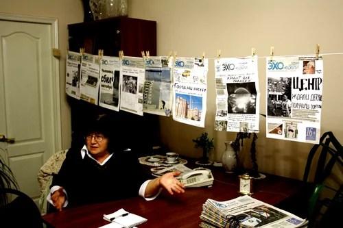 Эхо недели: тренинг по основам газетного дизайна