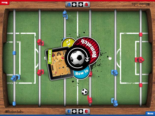 приложение Foosball HD для iPad