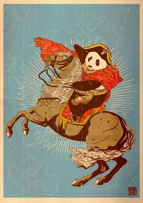 Художник William Chua / Хiaobaosg. Panda Revolution и другие истории
