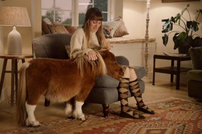 Трогательная реклама Amazon с одиноким пони и хромой собакой