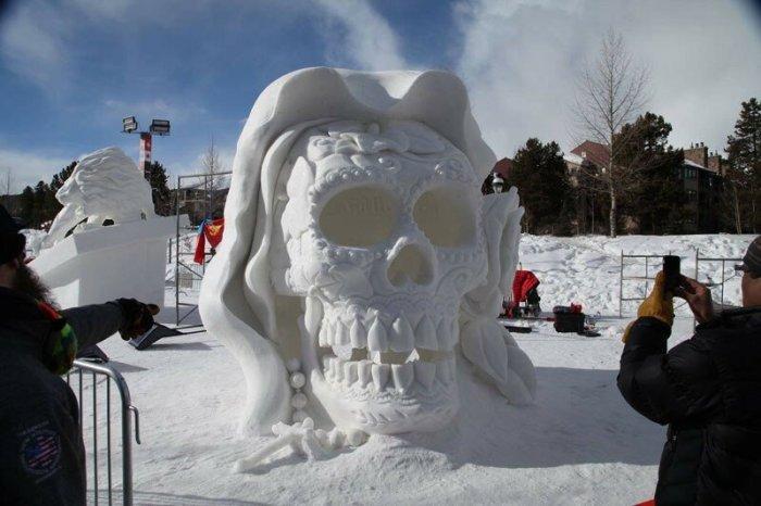 Международный фестиваль снежных скульптур в Брекенридже, США