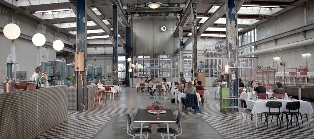 Ресторан Radio Royaal | Эйховен, Голландия | Стиль индастриал в общепите
