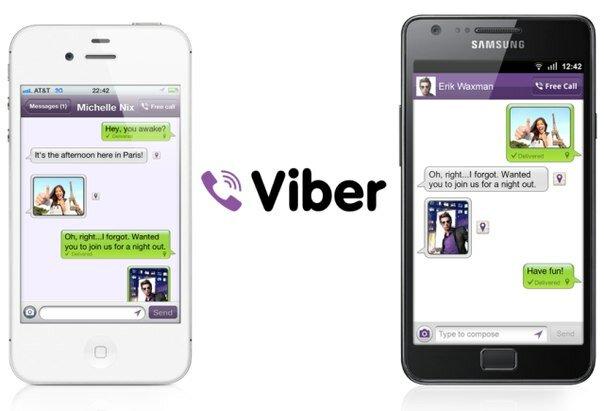 приложение Viber для iPhone и Mac - бесплатные звонки и смс