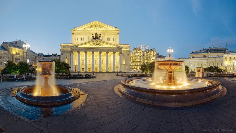 Фонтаны Большого театра
