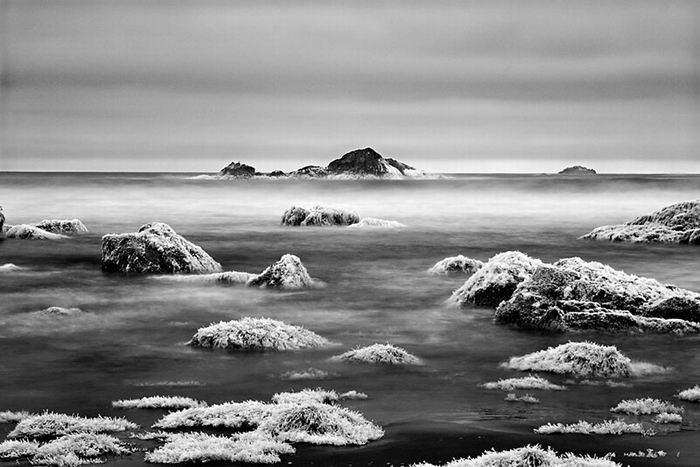 Ураганная  американская природа на чёрно-белых снимках Mitch Dobrowner