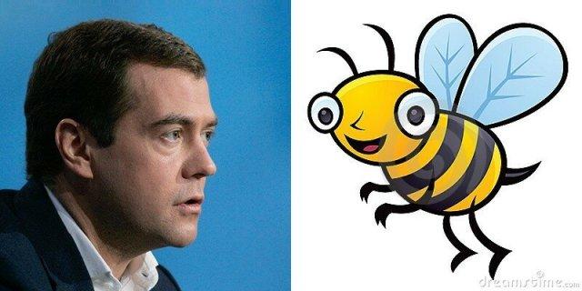 Почему Путин краб, Медведев – шмель, а Ленин – гриб