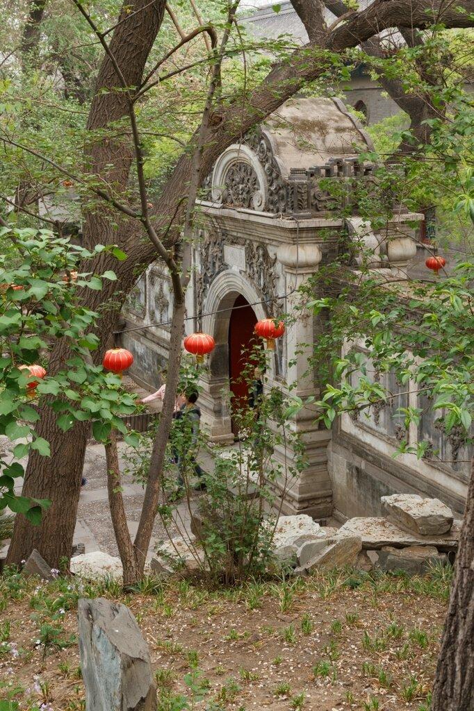 Ворота в сад, резиденция Гун-вана, Гунванфу, Пекин
