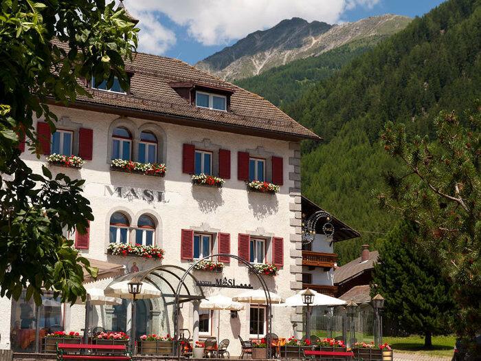 Альпийский отель Masl (фото)