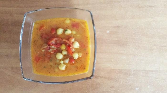 Африканский кокосовый суп