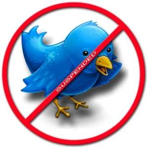 Твиттер заблокирован