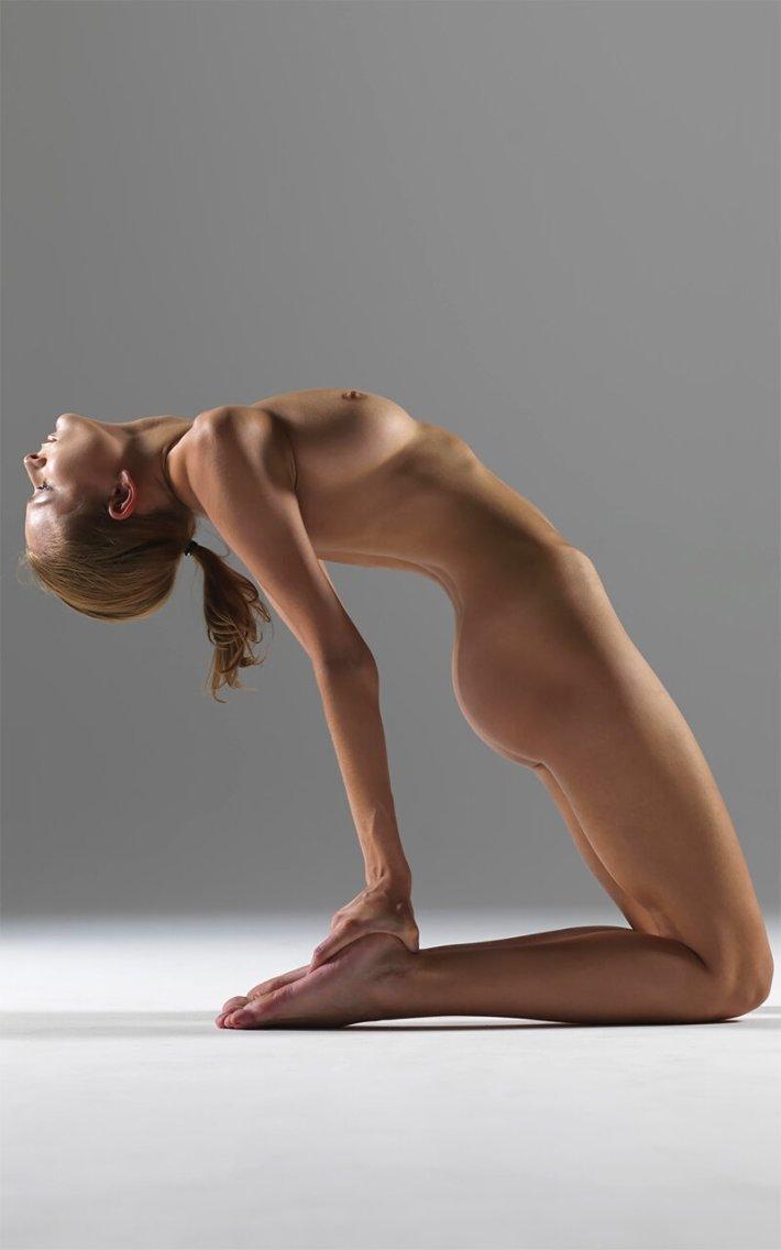 Йога, самосвязывание без верёвок