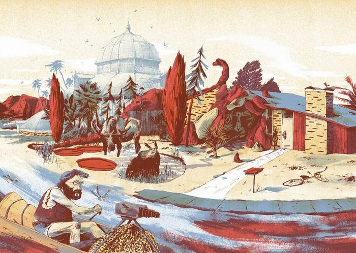 Anton Van Hertbruggen - графика и иллюстрация. Бельгия, Антверпен