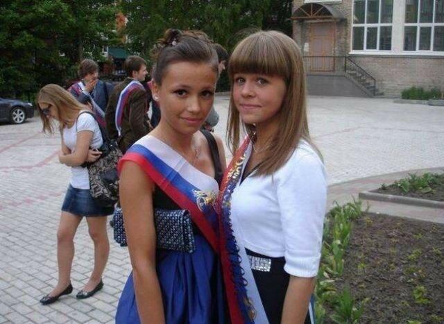 Выпускники. США vs Россия (фото)