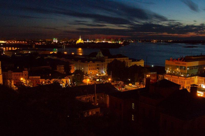 Нижний Новгород вечером