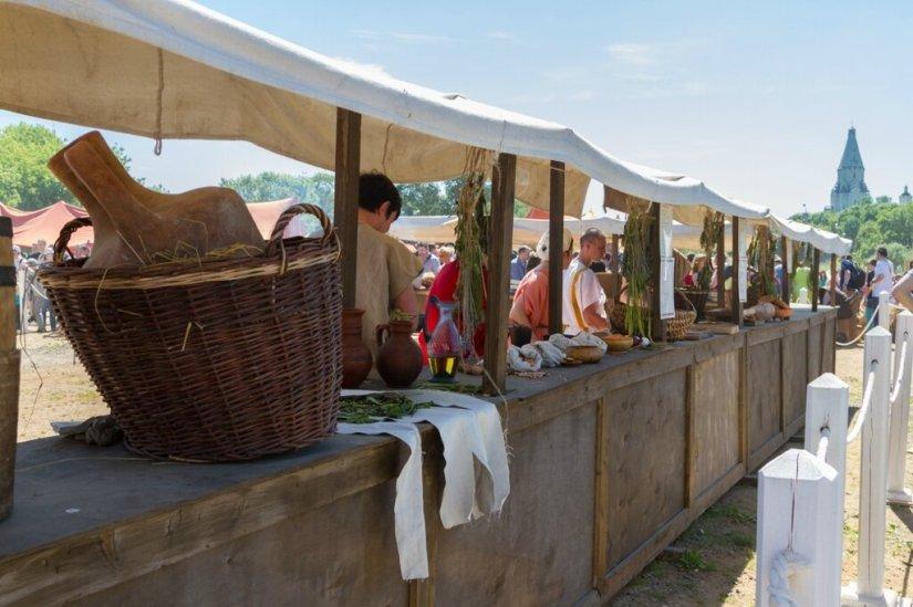Античный рынок, Времена и эпохи-2015, Коломенское