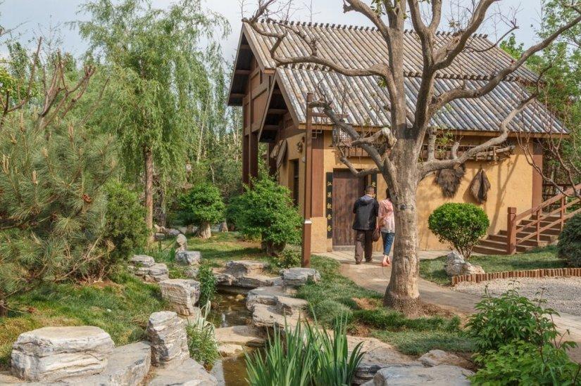 В саду Цзинмэнь