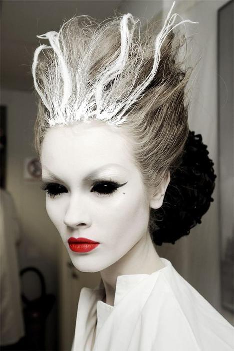 Самый жуткий макияж на Хэллоуин 2014