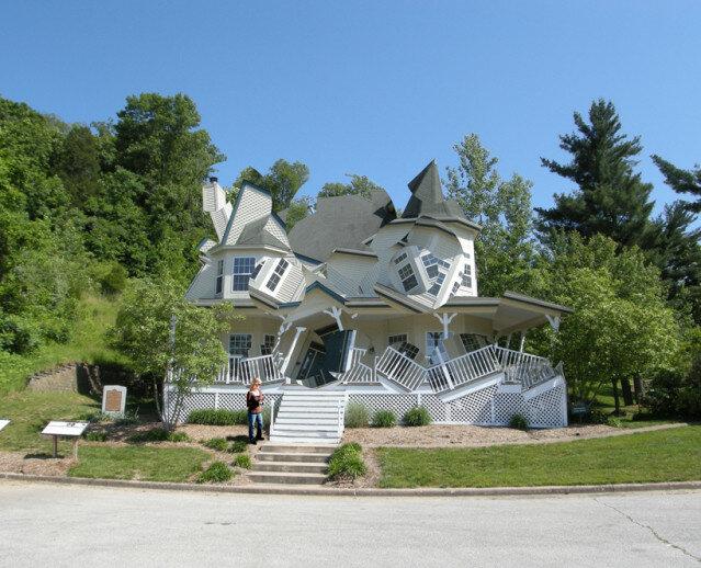 «Разрушенные дома». Архитектурный проект Майкла Джентцена