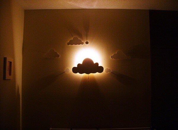 Невидимые полки, вазочка из лампы и еще 45 идей «Сделай сам» для хранения вещей и украшения дома