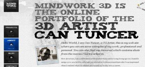 Крупный шрифт в заголовке сайта