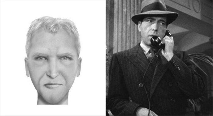 Синдром свидетеля! Фотороботы известных персонажей и преступников и реальные фотографии