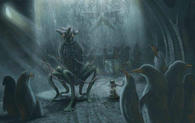 Страшные истории: Ктулху и другие жуткие монстры, которых придумал писатель Говард Лавкрафт