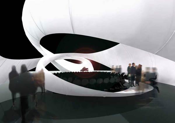 JS Bach Chamber Music Hall   Зал камерной музыки для Manchester International Festival   Zaha Hadid Architects