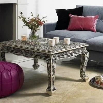 мебель марокканская этническая инкрустация из кости
