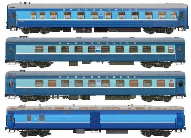 Схемы нумерации мест в пассажирских вагонах