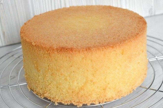 Рецепт Бисквитное тесто (бисквит)