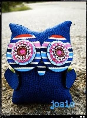 подушка-сова хендмейд