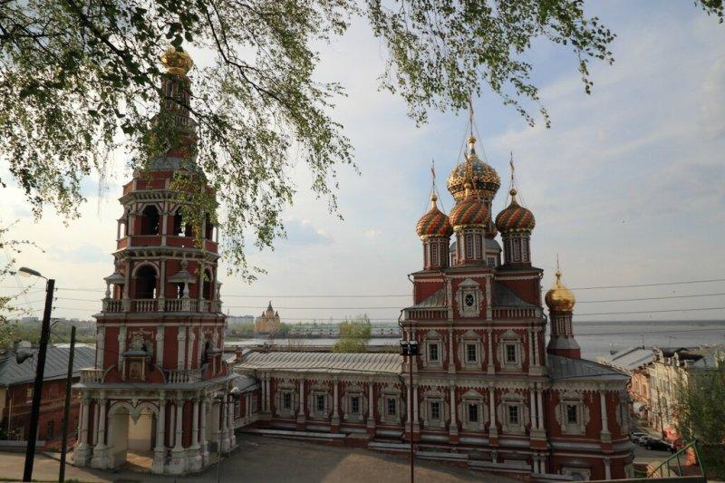 Строгановская церковь, Нижний Новгород