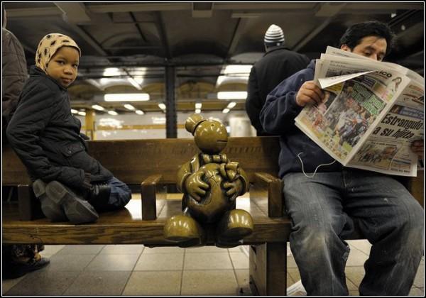 Народно-социальная скульптура. ©Том Otterness / Том Оттернесс