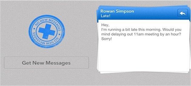 приложение Triage для iPhone - e-mail клиент Gmail, Yahoo, iCloud