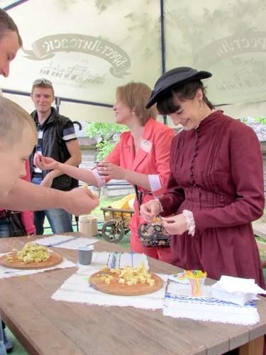Первый cырный фестиваль