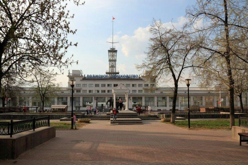Речной вокзал Нижнего Новгорода