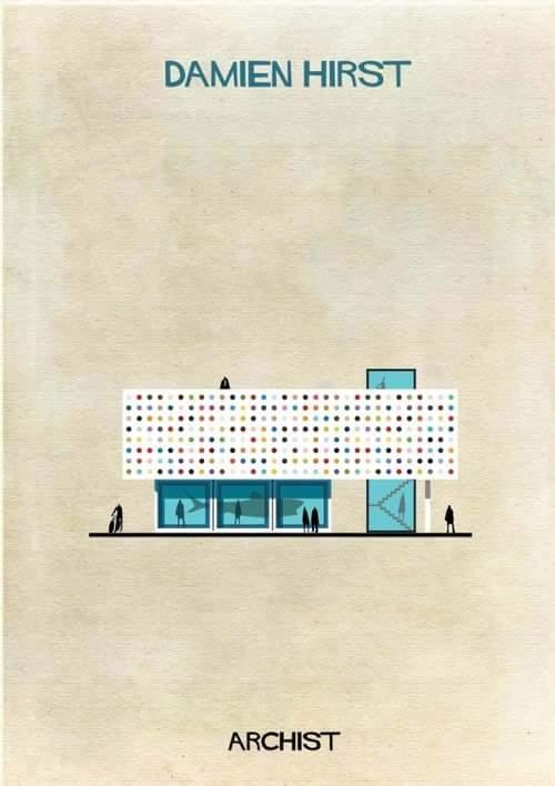 Если бы дома проектировали не архитекторы, а художники абстракционисты